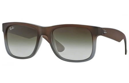 Rb4165 Brown Ray Sol Ban® Rubber Grey Green Gradient 8547z On Justin Gafas De knP0wO