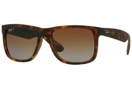 b240c8f928 ... 865/T5 HAVANA RUBBER // BROWN GRADIENT POLARIZED. Gafas de Sol - Ray-Ban®  - Ray-Ban® RB4165 JUSTIN -