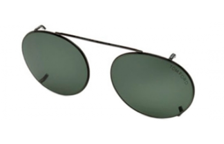 Monturas - Tom Ford - FT 5502 - 08N CLIP-ON SHINY ANTHRACITE   GREEN 1defb204ca
