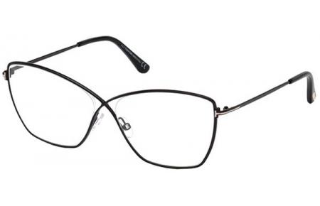 Lunettes de vue - Tom Ford - FT 5518 - 001 SHINY BLACK b22d9db11266