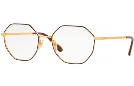 Lunettes de vue - Vogue - VO4094 - 997 BROWN PALE GOLD