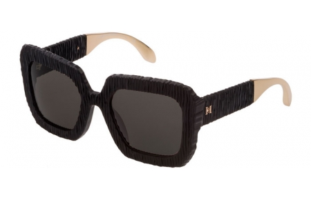 Sunglasses - Carolina Herrera New York - SHN600  - 0703  MATTE BLACK // BROWN