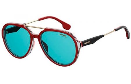 451d483772 Gafas de Sol - Carrera - CARRERA 1012/S - 6K3 (KU) BURGUNDY GOLD BLACK //  BLUE