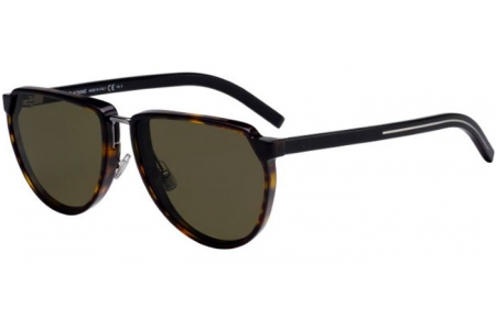 Sunglasses - Dior Homme - BLACKTIE248S - 086 (O7)  DARK HAVANA // GREEN LIGHT GREEN ANTIREFLECTION