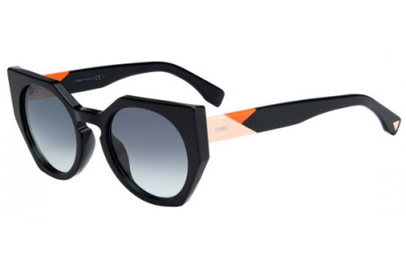 04b39532ff Gafas de Sol Fendi FF 0151/S 807 (JJ) BLACK // GREY GRADIENT