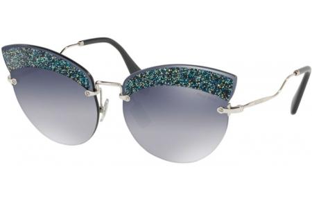 690760a3a0 Gafas de Sol Miu Miu SMU 58TS D47148 SILVER // GREY GRADIENT BLUE ...