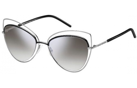 Sunglasses - Marc Jacobs - MARC 8/S - 25K (FU) RUTHENIUM BLACK // GREY MIRROR SILVER GRADIENT