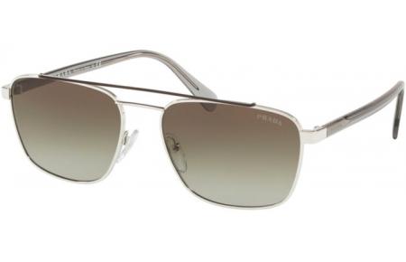 1853ee0855 Gafas de Sol - Prada - SPR 61US - Y7B5O2 BROWN SILVER // GREEN GRADIENT