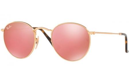 Round 001z2 Sol Copper Ray Flash Ban® Gold Rb3447n Gafas De Shiny Metal WE29YDHI