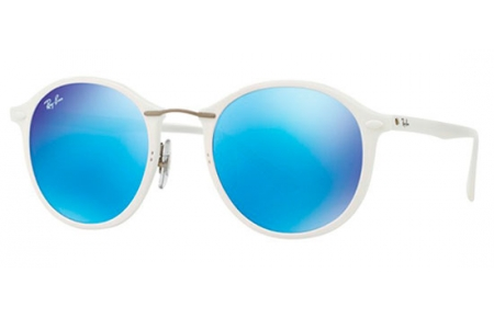 d127f94ee3dca Gafas de Sol RayBan RB4242 TECH  LIGHT RAY 671 55 SHINY WHITE ...
