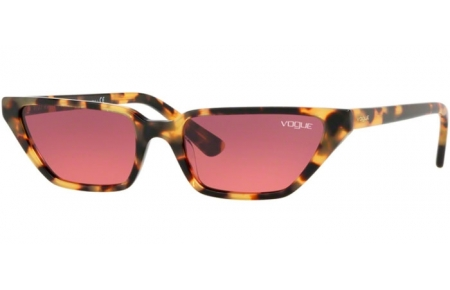 Sunglasses - Vogue - VO5235S - 260520 BROWN YELLOW TORTOISE // PINK GRADIENT VIOLET