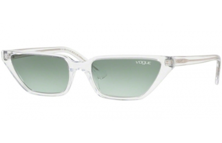 Sunglasses - Vogue - VO5235S - W7458E TRANSPARENT // GREEN GRADIENT
