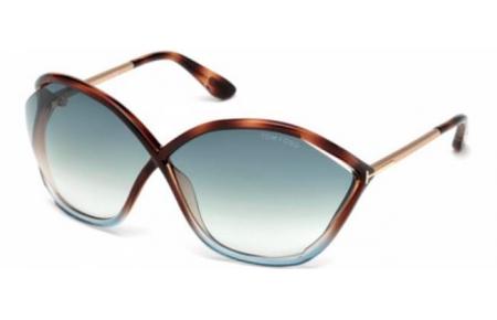 0902480fb1 Gafas de Sol - Tom Ford - BELLA FT0529 - 55B HAVANA BLUE // GREY