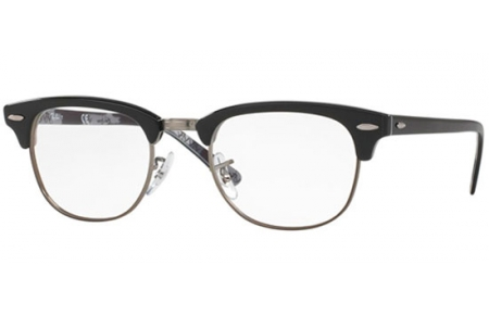 cd4366c555 Monturas - Ray-Ban® - RX5154 CLUBMASTER - 5649 BLACK ON TEXTURE CAMUFLAGE
