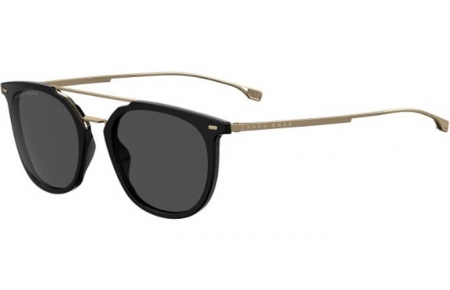 Sunglasses - BOSS Hugo Boss - BOSS 1013/S - 2M2 (IR) BLACK GOLD // GREY