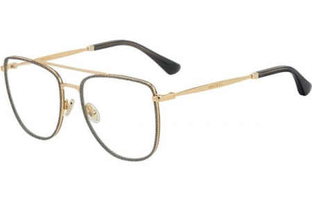 Frames - Jimmy Choo - JC250 - W8Q  GOLD GLITTER GREY