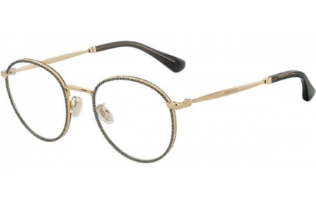 Frames - Jimmy Choo - JC251/G - W8Q  GOLD GLITTER GREY