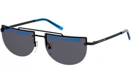 Sunglasses - Marc Jacobs - MARC 404/S - WBX (IR) BLUE FLUO // GREY