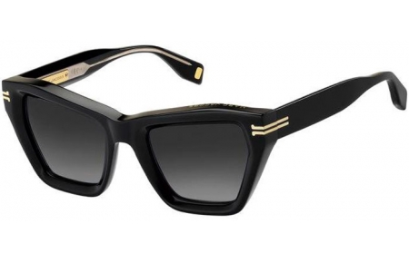 Sunglasses - Marc Jacobs - MJ 1001/S - 807 (9O) BLACK // DARK GREY GRADIENT