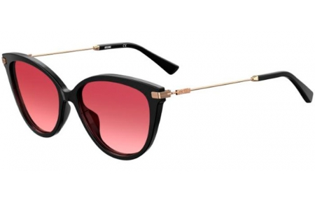 Sunglasses - Moschino - MOS069/S - OIT (3X) BLACK RED GOLD // PINK GRADIENT