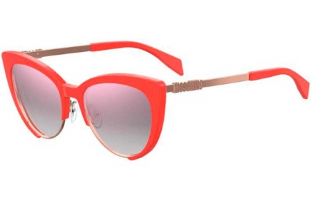 Sunglasses - Moschino - MOS040/S - 1N5 (VQ) CORAL // PINK MULTILAYER