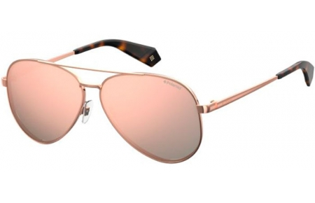 Sunglasses - Polaroid - PLD 6069/S/X - 210 (0J) COPPER // GREY ROSE GOLD MULTILAYER POLARIZED