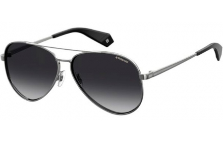 Sunglasses - Polaroid - PLD 6069/S/X - 6LB (WJ) RUTHENIUM // GREY GRADIENT POLARIZED