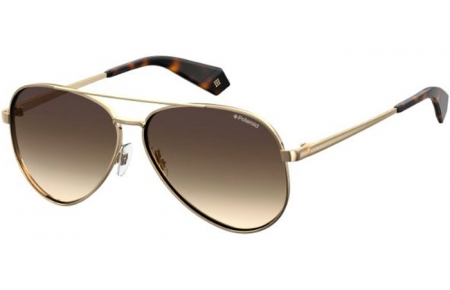 Sunglasses - Polaroid - PLD 6069/S/X - J5G (LA) GOLD // BROWN GRADIENT POLARIZED