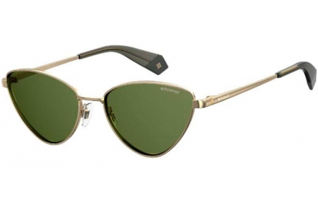 Sunglasses - Polaroid - PLD 6071/S/X - J5G (UC) GOLD // GREEN POLARIZED