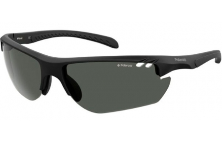Sunglasses - Polaroid Sport - PLD 7026/S - 003 (M9) MATTE BLACK // GREY POLARIZED