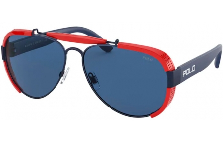Sunglasses - POLO Ralph Lauren - PH3129 - 930380 MATTE NAVY BLUE // DARK BLUE