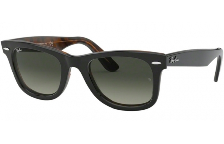 Sunglasses - Ray-Ban® - Ray-Ban® RB2140 ORIGINAL WAYFARER - 127771 TOP GREY ON HAVANA // GREY GRADIENT