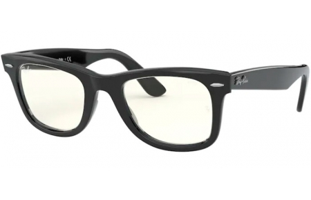 Lunettes de soleil - Ray-Ban® - Ray-Ban® RB2140 ORIGINAL WAYFARER - 901/5F SHINY BLACK // PHOTOCROMIC GREY