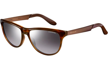 Sunglasses - Carrera - CARRERA 5015/S - 8QC (IC) HAVANA MATTE BROWN // GREY MIRROR GRADIENT SILVER