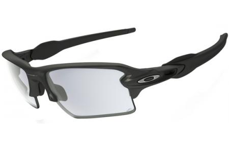 ba38a6684a Sunglasses - Oakley - FLAK 2.0 XL OO9188 - 9188-16 STEEL GREY   .  Photochromic