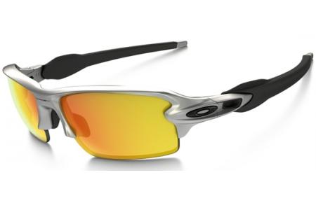5a3c8a1c52 Sunglasses - Oakley - FLAK 2.0 OO9295 - 9295-02 SILVER    FIRE IRIDIUM