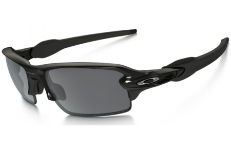 6b23fdd54f Sunglasses - Oakley - FLAK 2.0 OO9295 - 9295-07 POLISHED BLACK    BLACK