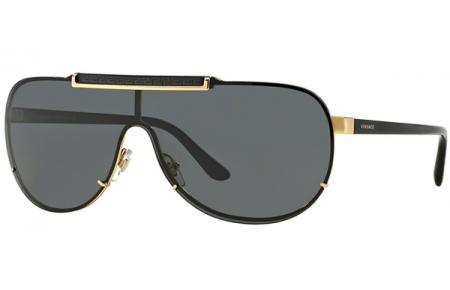 b2b67b427d9d9 Gafas de Sol - Versace - VE2140 - 100287 GOLD    GREY