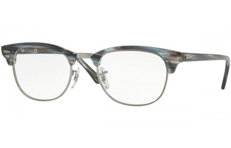 Frames - Ray-Ban® - RX5154 CLUBMASTER - 5750 BLUE GREY STRIPPED