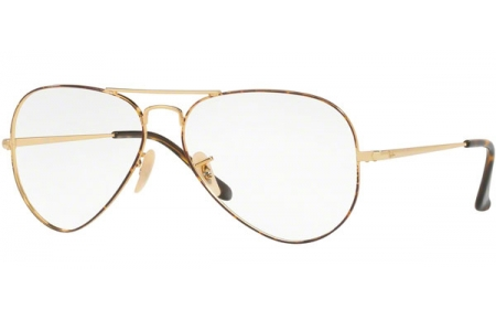 Monturas - Ray-Ban - RX6489 - 2945 GOLD TOP ON HAVANA