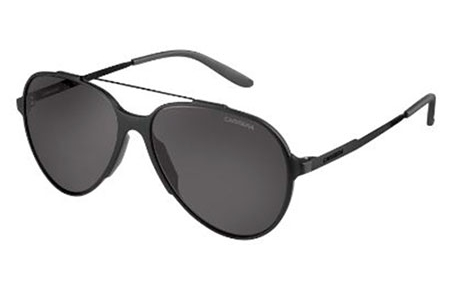 Sunglasses - Carrera - CARRERA 118/S - GTN (P9) MATTE BLACK SHINY BLACK // GREY