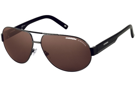 Sunglasses - Carrera - CARRERA 11 - OH2 (X1) DARK RUTHENIUM BLACK // BROWN