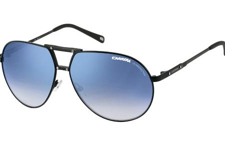 76c0fa0ede1b Gafas de Sol Carrera TURBO/B 3I6 (KM) STEEL METAL BLACK SHINY ...
