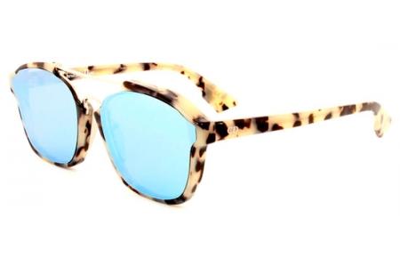 d04138ae80f27 Gafas de Sol Dior DIORABSTRACT A4E (A4) SPOTTED HAVANA    LIGHT BLUE ...