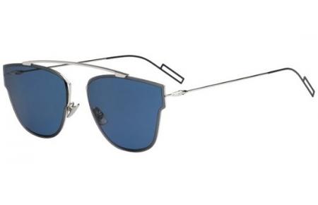c2dffb06148 Lunettes de soleil Dior Homme DIOR 0204S 010 (72) PALLADIUM    BLUE