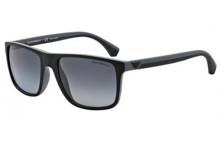 e6b425209b Gafas de Sol - Emporio Armani - EA4033 - 5229T3 BLACK GREY RUBBER // GREY