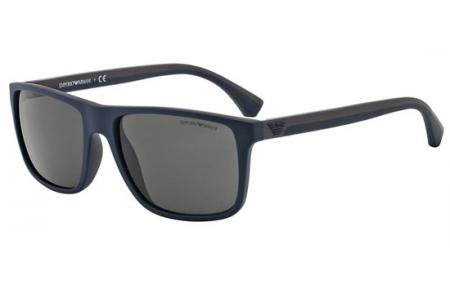 0788487d3f Gafas de Sol - Emporio Armani - EA4033 - 523087 TOP BLUE BROWN RUBBER //