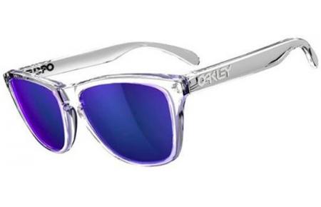 9b06fefe4 Gafas de sol Oakley FROGSKINS OO9013 24305 POLISHED CLEAR // VIOLET ...