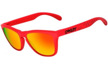 f8d3c11497 Sunglasses - Oakley - FROGSKINS OO9013 - 9013-48 MATTE RED    FIRE IRIDIUM