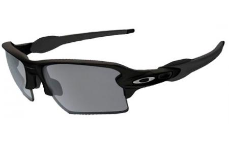 37baf5819d FLAK 2.0 XL OO9188 - 9188-12. MATTE BLACK    CHROME IRIDIUM POLARIZED.  Sunglasses - Oakley ...